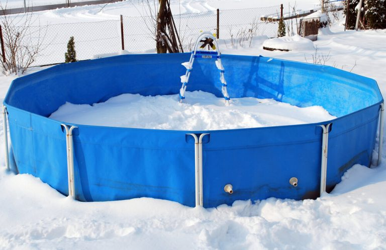 Can You Leave an Intex Pool Up All Winter