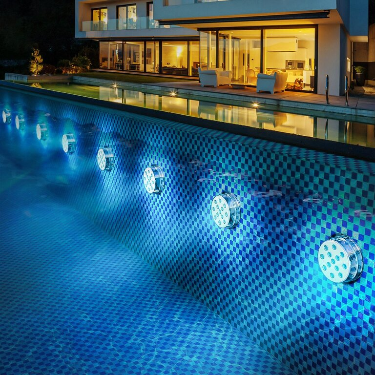 What is the brightest pool light