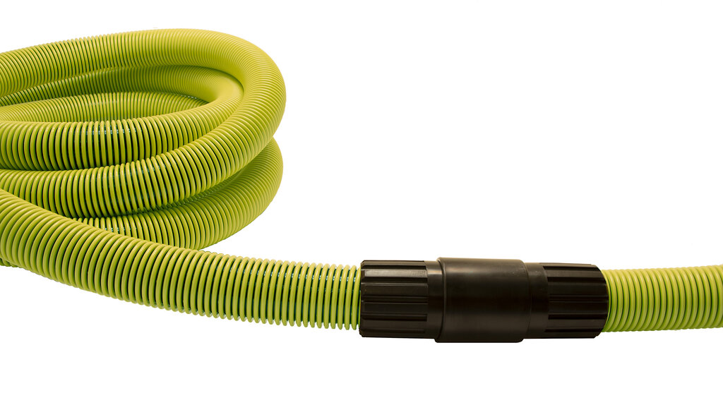 The length of the pool vacuum hoses
